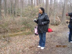 Greenbelt Watershed Watchdogs; Faye Austin March 23, 2011 057