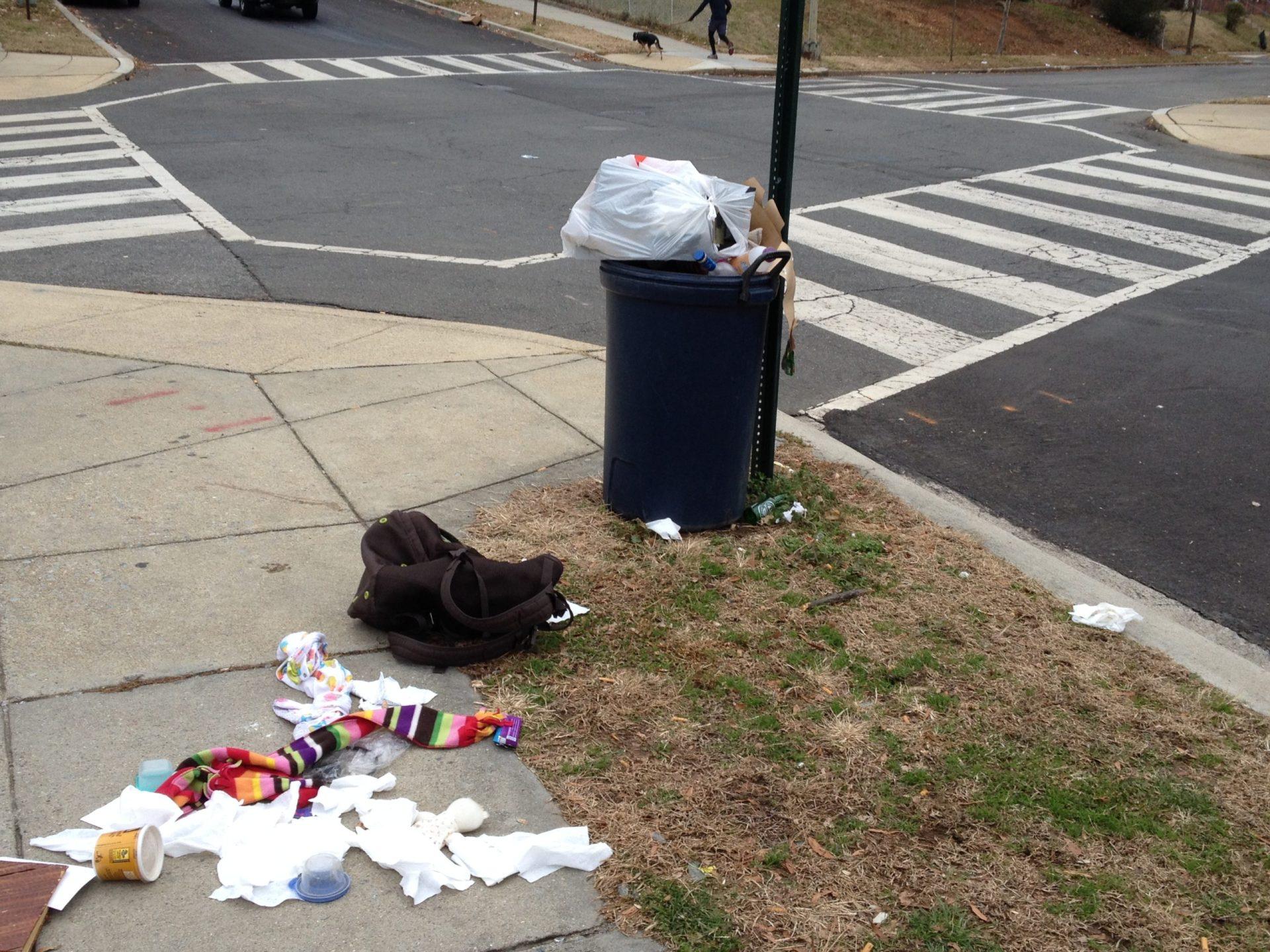 Litter In Street