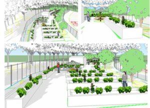 Urban Farm Renderings Interior